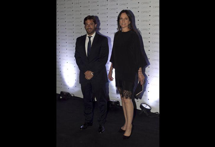 Carolina Stanley, ministra de Desarrollo Social, y Federico Salvai.