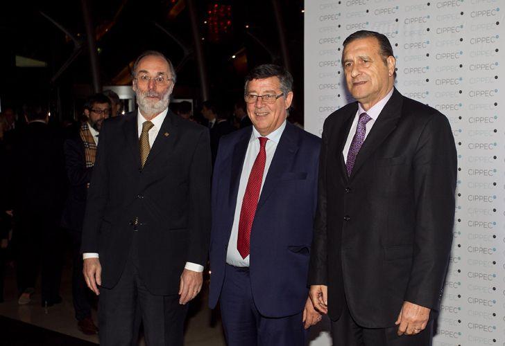 Pablo Tonelli (derecha) junto a Ángel Rozas (derecha).