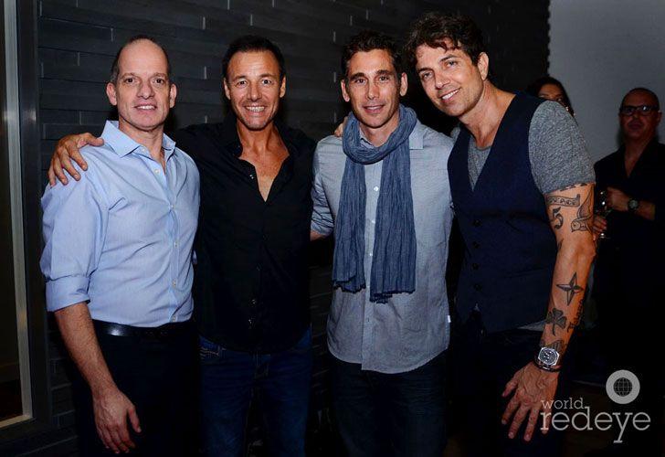 Marcelo Ferreiros, Diego Caniggia, Ricky Alietti, & Pablo Cosentino