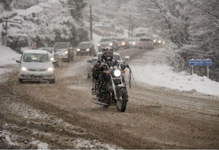 Bariloche durante su día más frío de la historia.