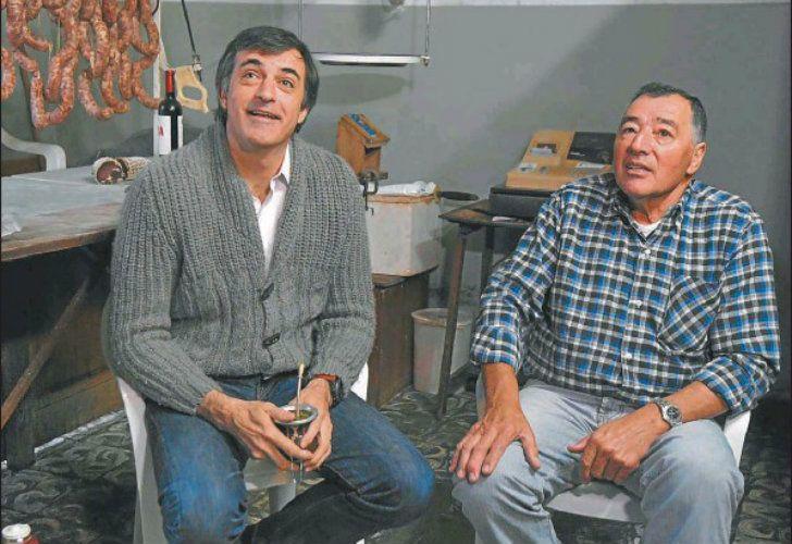 En el inicio de la campaña, el ex ministro de Educación timbreó ayer en Junín, donde visitó a su carnicero de confianza.
