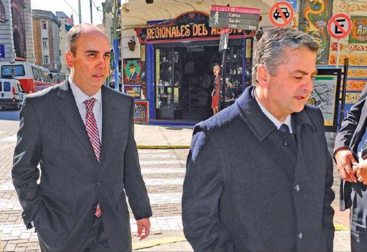 Marcelo Martínez de Giorgi y Sebastián Ramos
