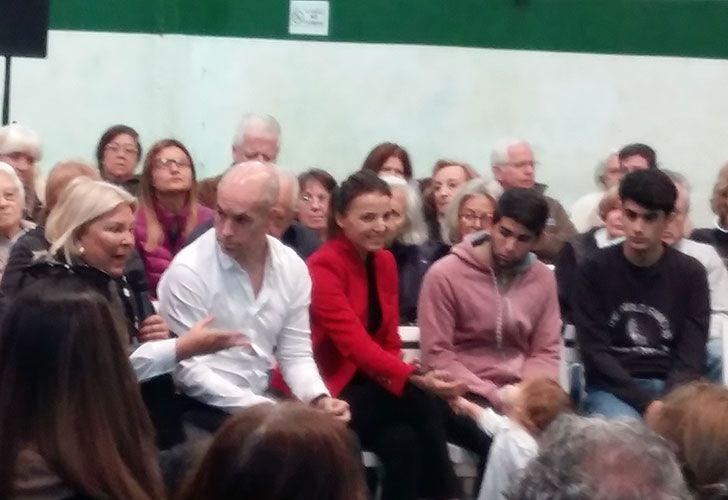 Larreta suma a Bárbara Diez a la campaña y espera una elección histórica con Carrió