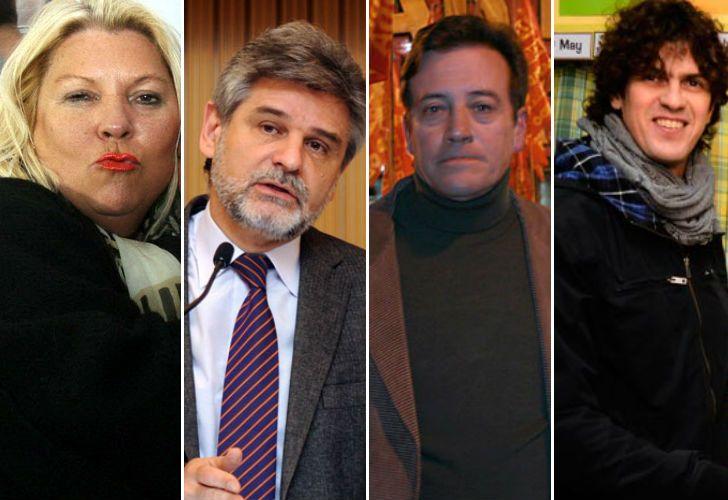 Carrió, Filmus, Ramal y Lousteau, los principales precandidatos en la Ciudad.