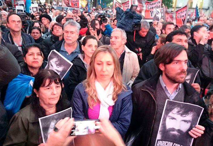 Marcha de Santiago Maldonado