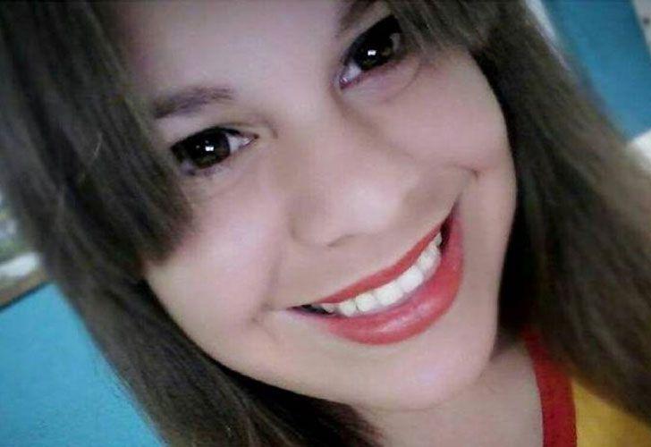 Araceli González. Tenía 18 años. Asesinada en febrero.