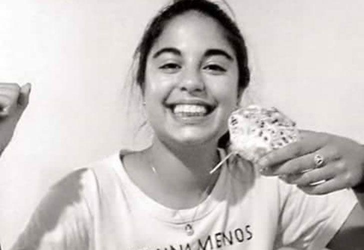 Micaela García. Tenía 21 años. Asesinada en abril.