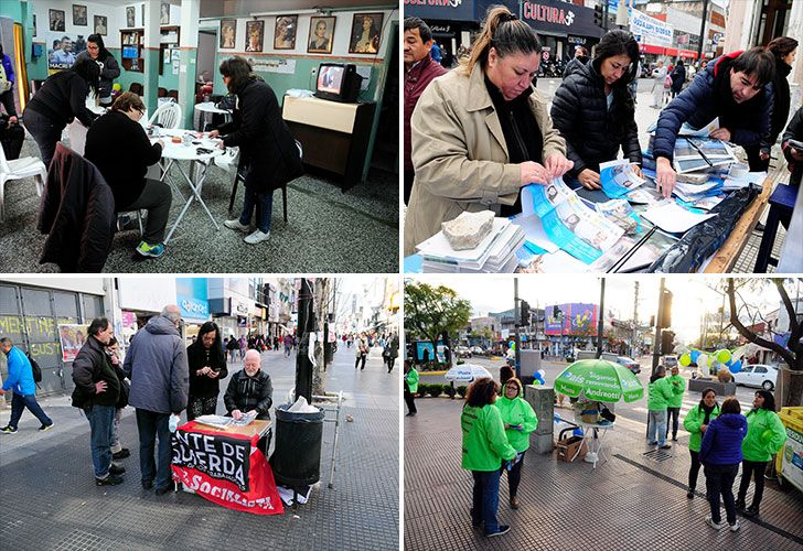 PER FIL estuvo en distintos barrios de Quilmes, Lomas de Zamora, San Martín y San Fernando. Allí se buscan las adhesiones que los candidatos no pudieron conseguir en spots publicitarios y la TV.