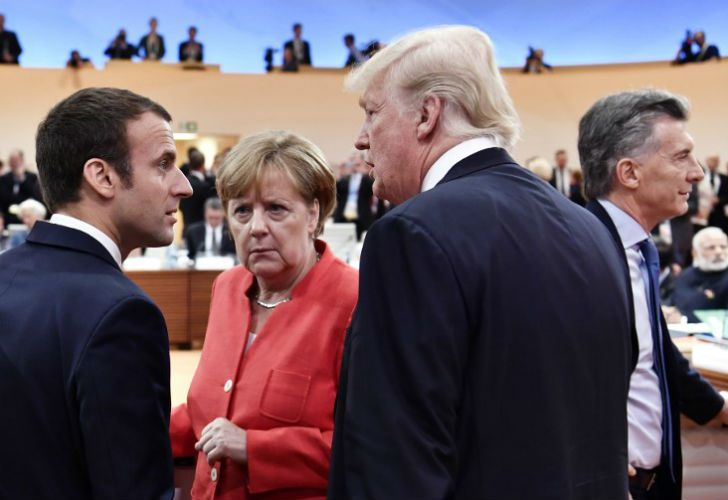 Macron, Merkel, Trump and Macri. New leaderships far away from the