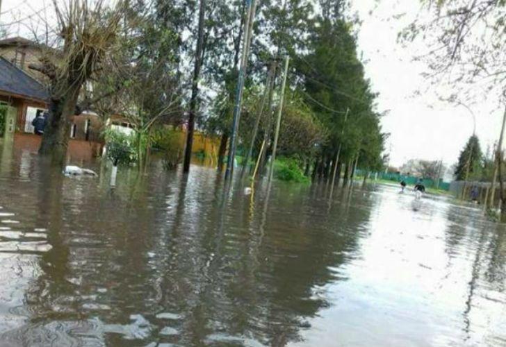 Berazategui, otro de los municipios afectados.