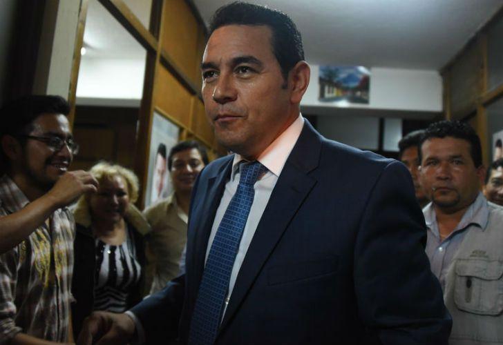 President Jimmy Morales.