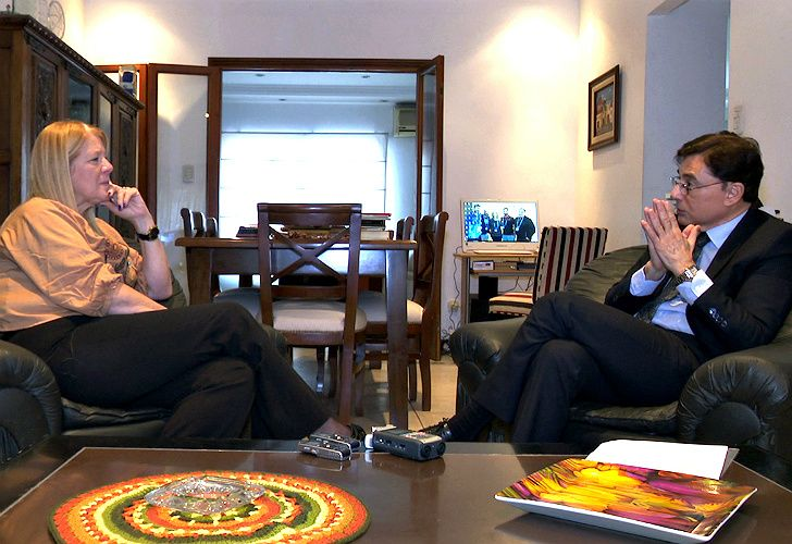 Stolbizer, entrevistada por Jorge Fontevecchia.