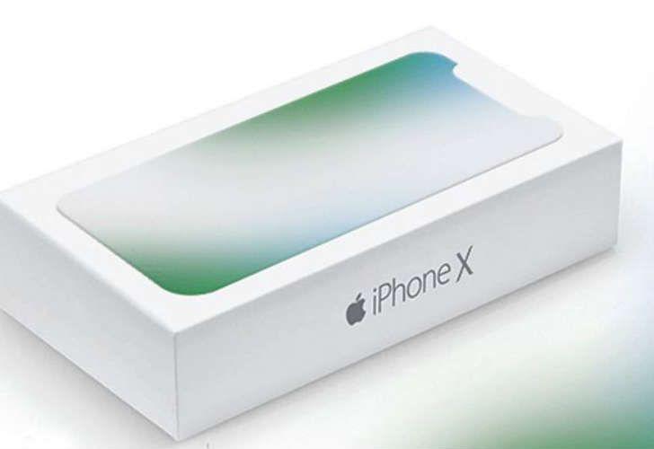 iPhone X box leaked