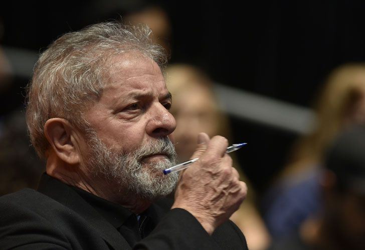 Former president Luiz Inácio Lula Da Silva