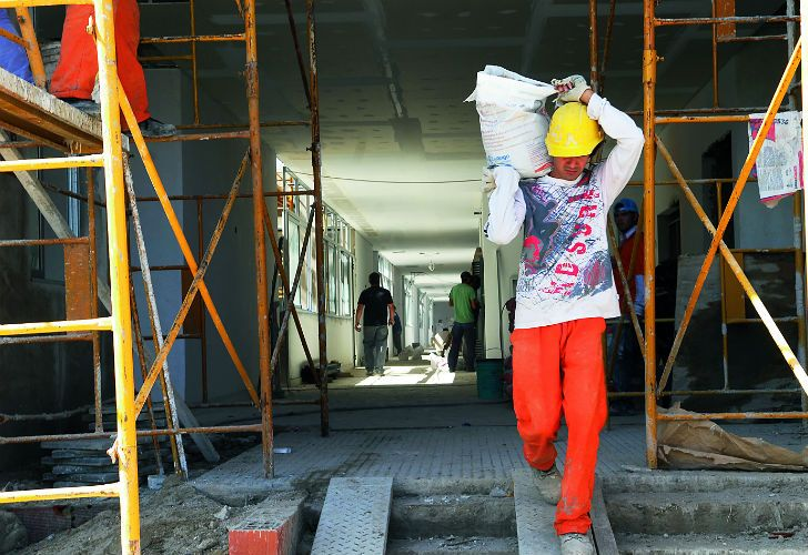 As many as one-third of people nationwide are informal workers, official statistics show.