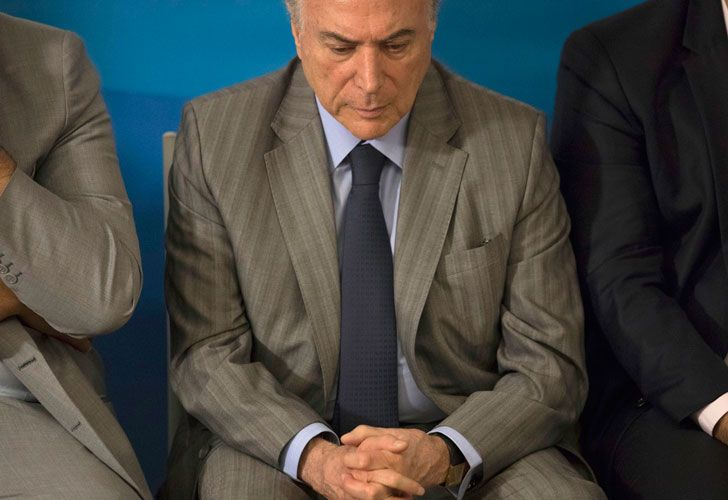 Brazil President Michel Temer.