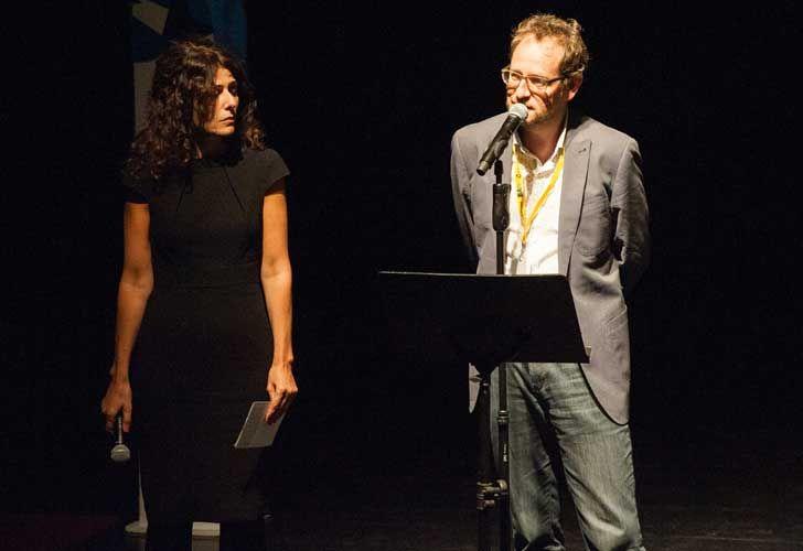 ProHelvetia presentó el programa de intercambio cultural. El artista suizo Mats Staub.