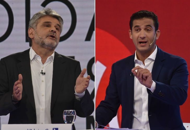 Tombolini y Filmus intercambiaron reproches.
