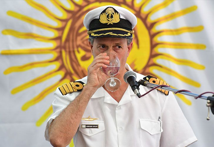 Navy spokesman Enrique Balbi has become the face of the ARA San Juan public relations disaster involving the Navy and Defence Ministry's miscommunication or silence about important developments.