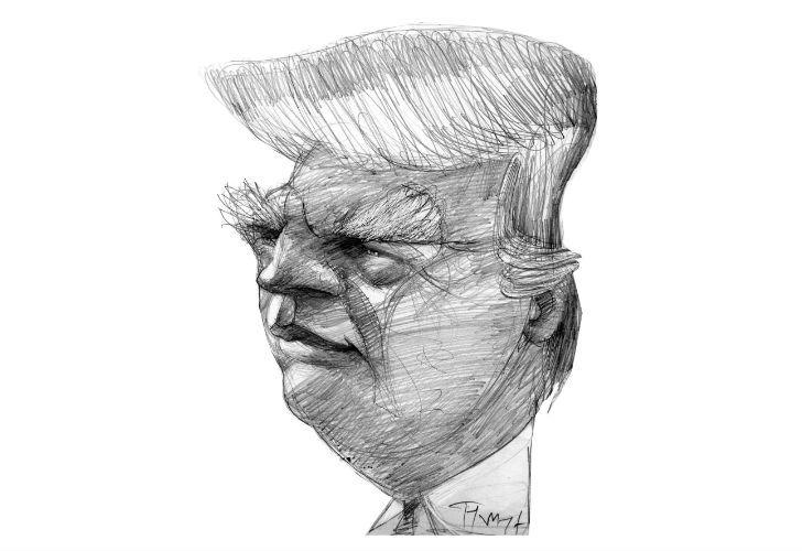 US President, Donald Trump.