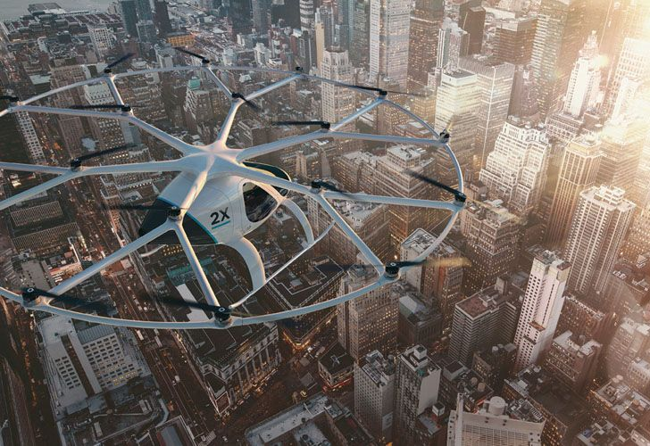 Drones, el futuro del transporte urbano.