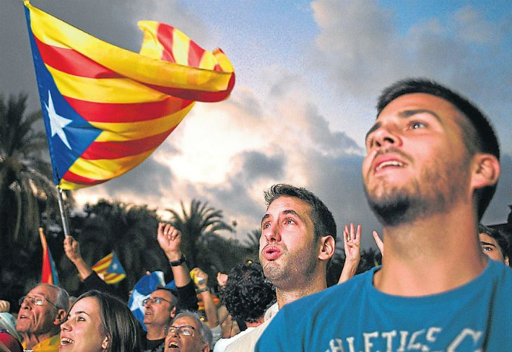 In Catalonia, emotional arguments dating back to the Franco dictatorship combined with economic issues to fuel calls for independence.