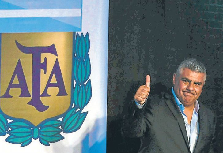 President of the Argentine Football Association (AFA), Claudio Tapia.