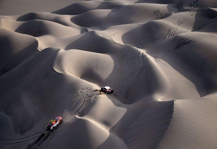 Las famosas, y temidas, dunas de Tanaka, en Perú.