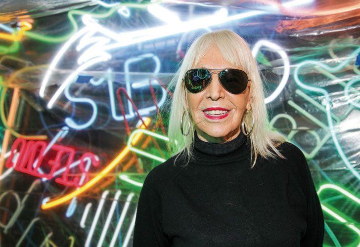 La artista plástica Marta Minujín.