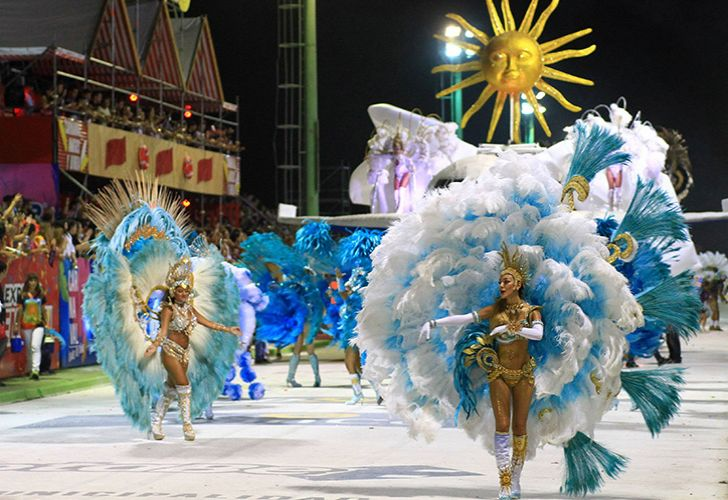 2018 carnaval festivities in the city of Corrientes.