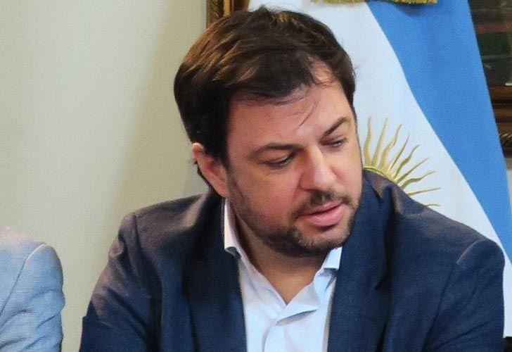 Presidential undersecretary Valentín Díaz Gilligan.