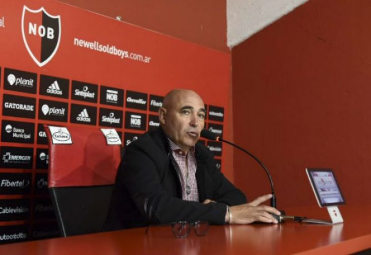 Former Newell's Old Boys head coach Juan Manuel Llop.
