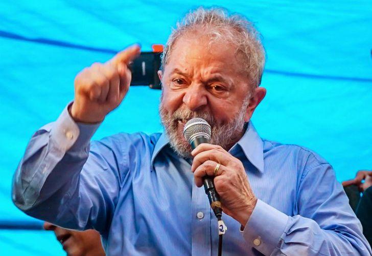 Former Brazilian president Luiz Inácio Lula da Silva.