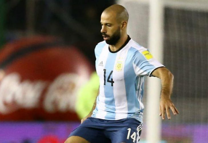 Javier Mascherano, 33, has played 141 times for the Argentine national team. He recently spent eight seasons at Barcelona, but now plays for China Hebei Fortune.