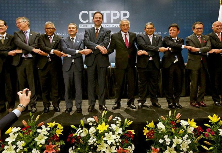 Trade ministers from the 11 countries that signed the so-called Comprehensive and Progressive Agreement for Trans-Pacific Partnership (CPTPP)