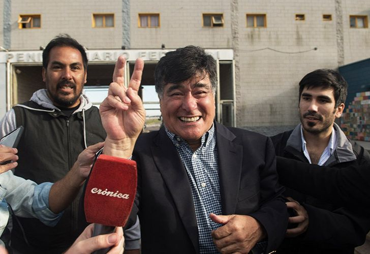 Former presidential secretary to Cristina Fernández de Kirchner, Carlos Zannini, was freed from Ezeiza prison on Saturday March 24, 2018.