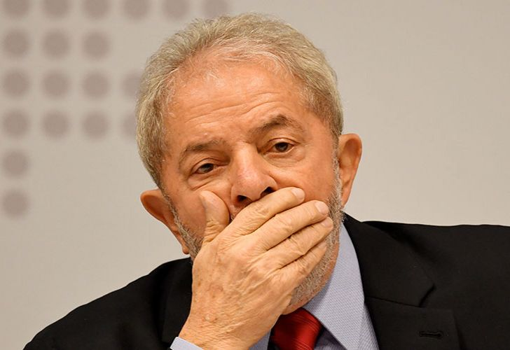 Former Brazil president Luiz Inacio da Silva.
