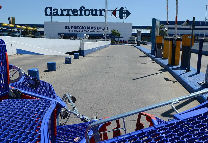 Carrefour is one of Argentina's biggest private employers.
