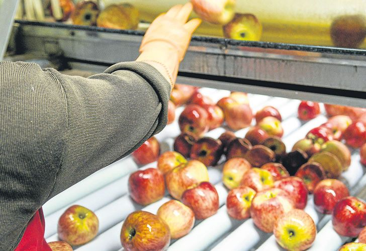 A deal for frozen meat and fruit products to be exported to China could improve Argentina's trade deficit with Beijing.