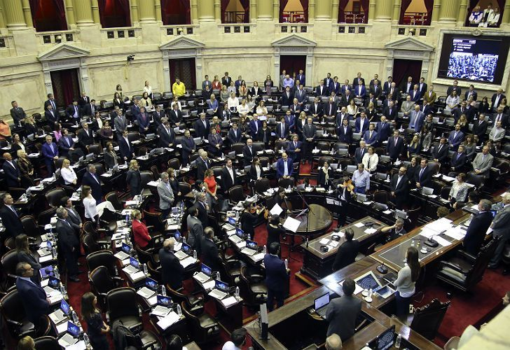 Argentina's Lower House.