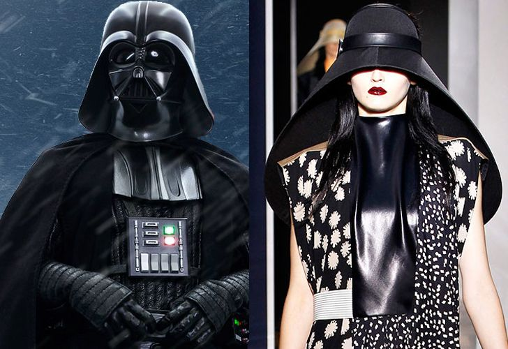 La influencia de Star Wars en la moda.