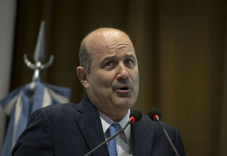 Central Bank Governor Federico Sturzenegger.