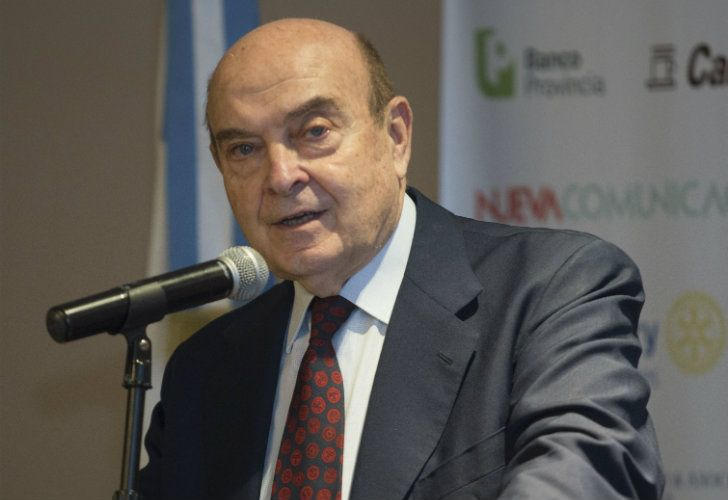 Economist Domingo Cavallo was Economy minister during Argentina's 2000-1 financial crisis.