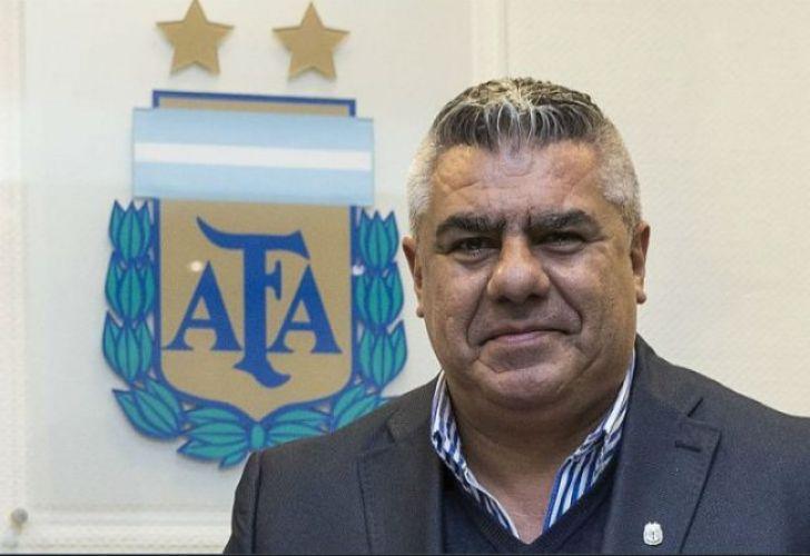 AFA boss Claudio Tapia.