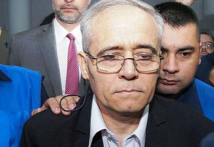 Paedophile priest Justo José Ilarraz.