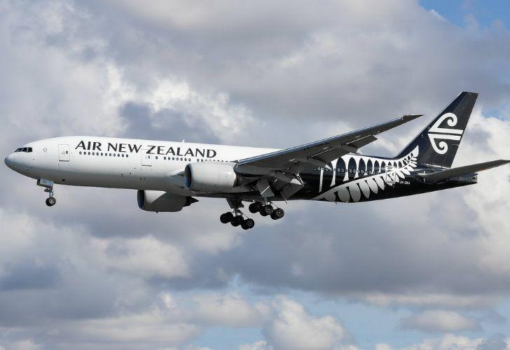 Air New Zealand's jet
