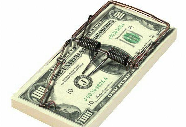 Dollar as a trap