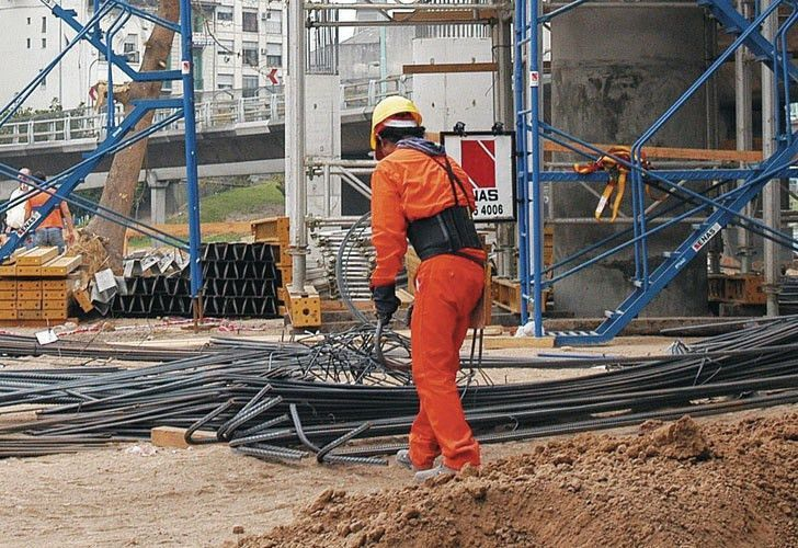 The construction sector is a major source of employment in Argentina.