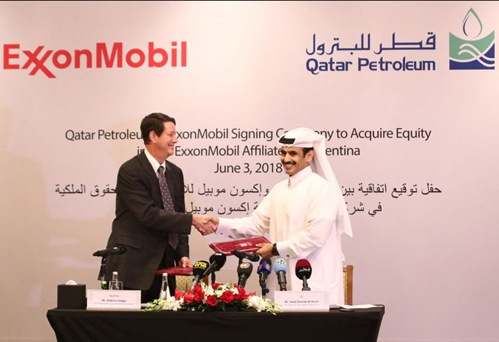 Agreements were signed by Saad Sherida Al-Kaabi, president & CEO of Qatar Petroleum, and Andrew P. Swiger, Vice-President and Principal Financial Officer of Exxon Mobil Corporation, at a ceremony held in Doha.