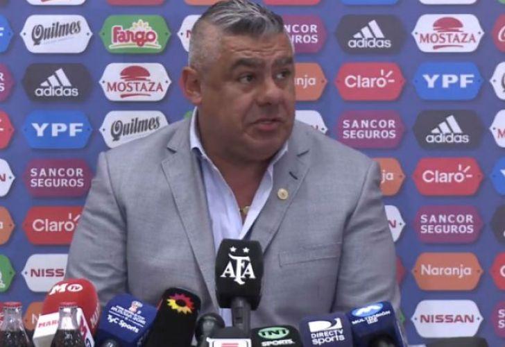 AFA President Claudio Tapia.
